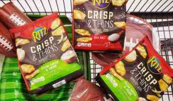 HOT Game Day SAVING on RITZ Crisp & Thins at Walmart – PLUS Enter to WIN a Walmart Gift Card #ad #RITZBlitz #IC