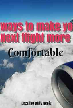 7 Ways to Make Your Next Flight More Comfortable