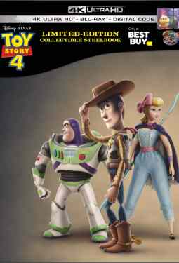Pre-Order Toy Story 4 4K Blu-Ray Collectible SteelBook Available Only At Best Buy #ad #ToyStory4