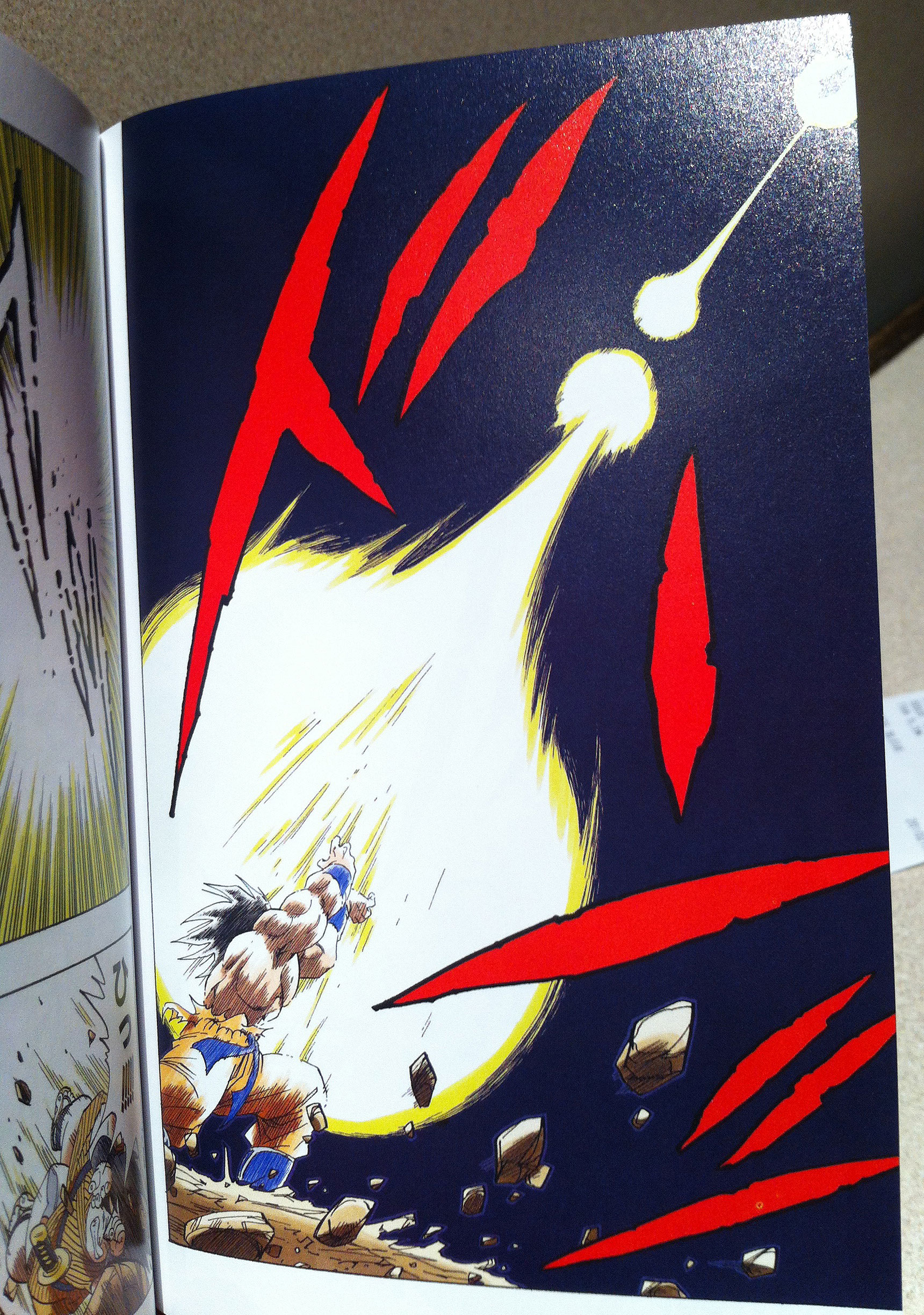 Test Des Mangas Dragon Ball Full Color