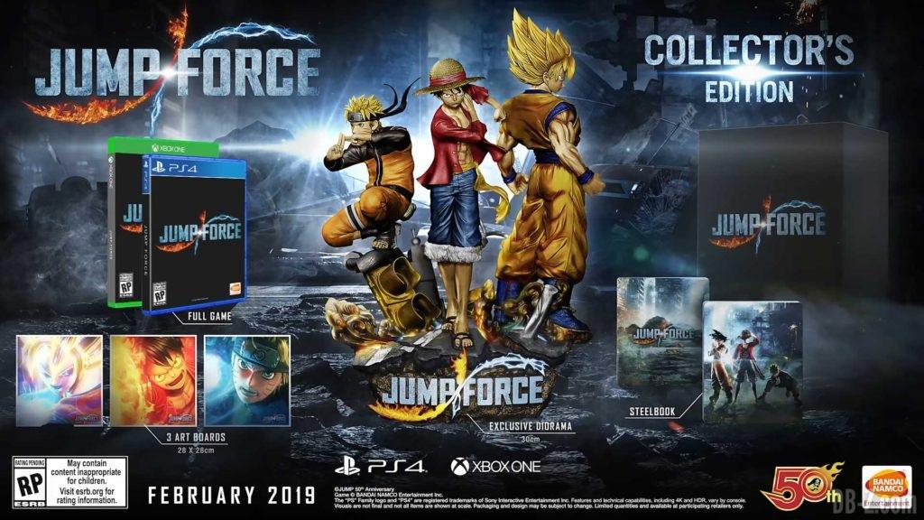 Jump Force Nouveau Trailer Avec Goku Et Vegeta SSGSS Et