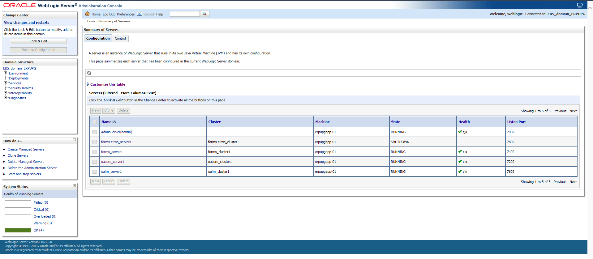 Changing OACORE java heap size in Oracle E-Business Suite