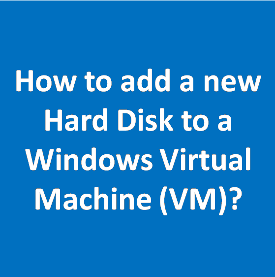 how to increase hard disk space in vmware virtual machine