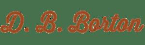 D. B. Borton logo