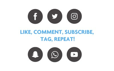 Like, Comment, Subscribe, Tag, Repeat!