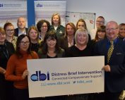 Lanarkshire DBI team with Mental Health Minister Clare Haughey