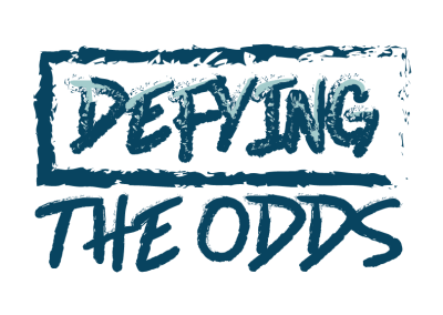 Defying the Odds | Logo & Social Media Graphics