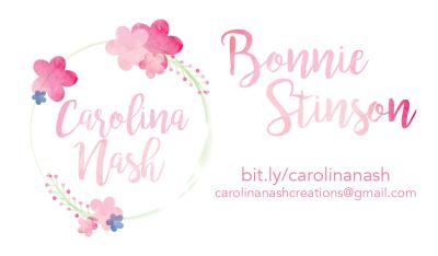 Carolina Nash Business Card Front