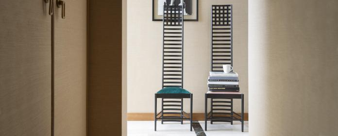 Hill House chair, Charles Rennie Mackintosh (Cassina)