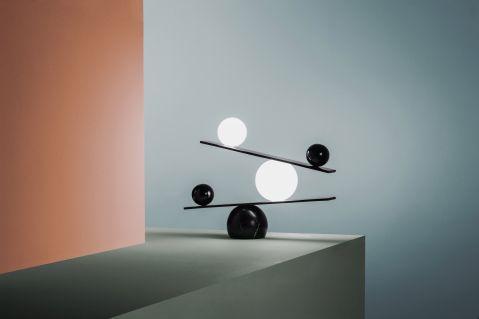 Oblure, lampa, Victor Castanera