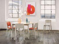 Ton, stol i stolice iz Leaf kolekcije, E-ggs studio