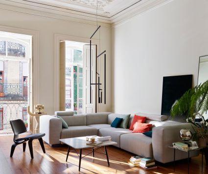 Vitra, soft modular sofa, Jasper Morrison