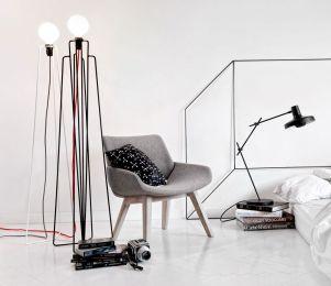 Stolica Monk, Prostoria, lampa model, Arigato lampa / sve dizajn Grupa