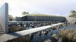 Civic WINNER - BAAD Studio - The Sunken Shrine of Our Lady of Lourdes of Cabetican, Bacolor, Philippines / Bluprint