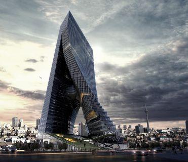 Commercial mixed-use - Fluid Motion Architects - Tehran World Trade Center, Tehran, Iran / Livingetc