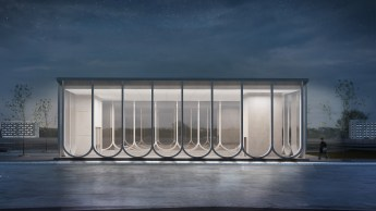 Competition entries - IND architects - Klenovyi Bulvar Subway Station Concept, Moscow, Russia / Behance