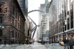 Experimental - Scott Brownrigg with Crown Architecture & Consulting - Reinventing New York's Park Avenue Medians - The Wind Turbine, New York City, USA / Scott Brownrigg, Crown Architecture & Consulting