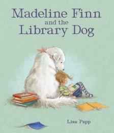 """Madeline Finn and the Library Dog"" book cover"
