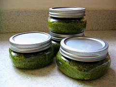 Photo of jars of pesto