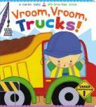 """""""Vroom, Vroom, Trucks!"""" book cover"""