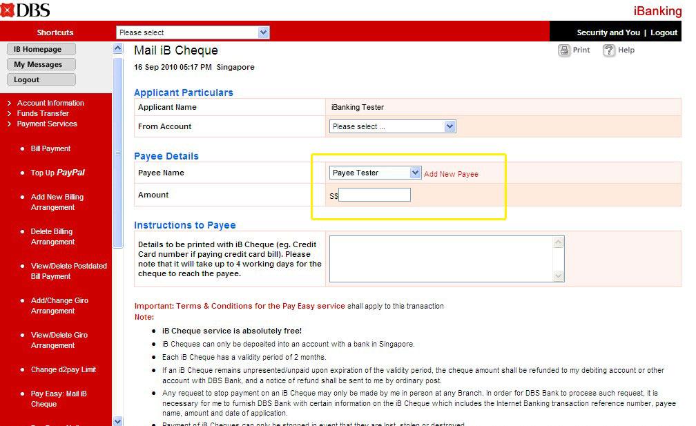 Axis Bank Personal Status