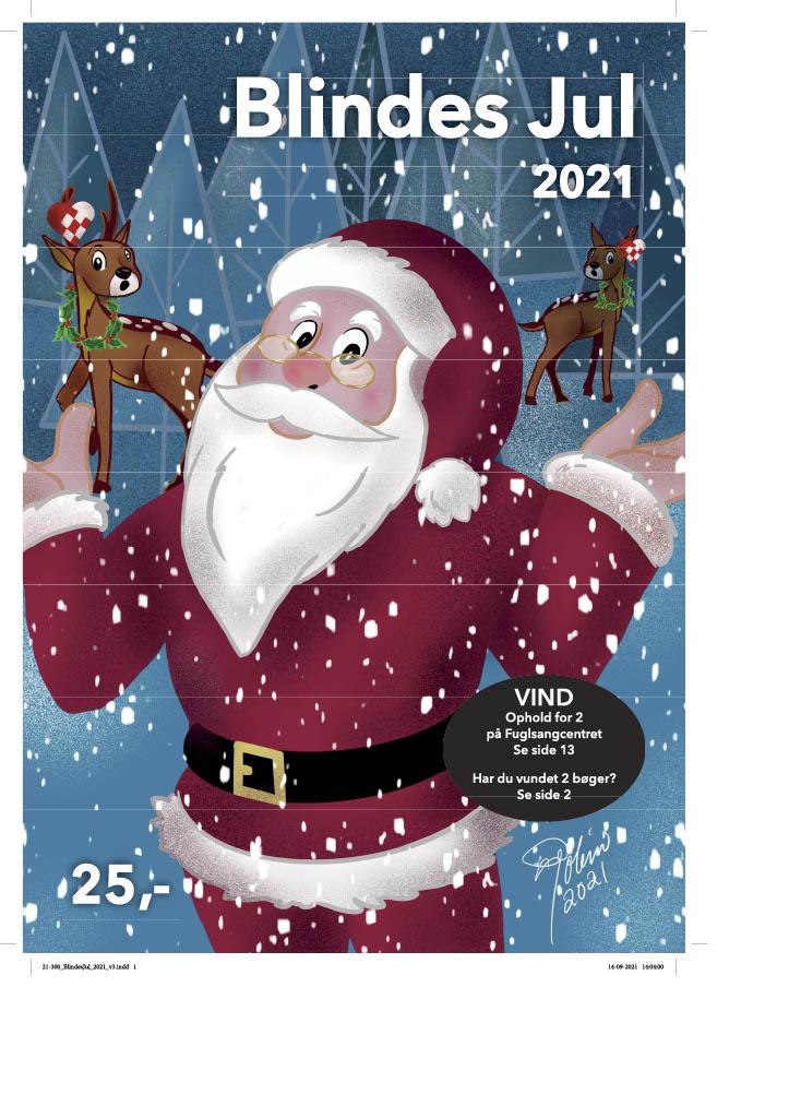 forsiden af Blindes Jul 2021