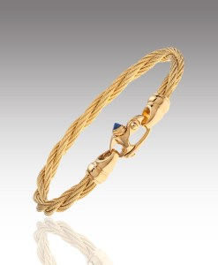 Two Cable Bracelet