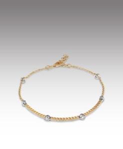 Dainty Diamond Bracelet