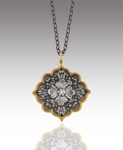 Flower Medallion Pendant