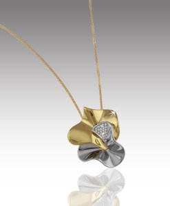 Diamond Floret Pendant