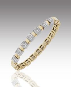 Seven Station Diamond Bracelet