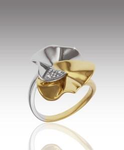 Diamond Floret Ring