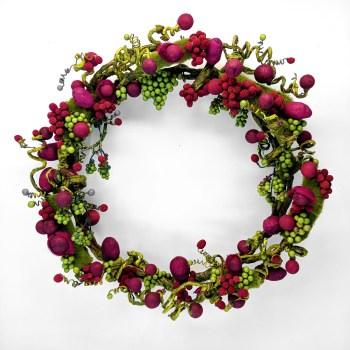 handmade wreath all year