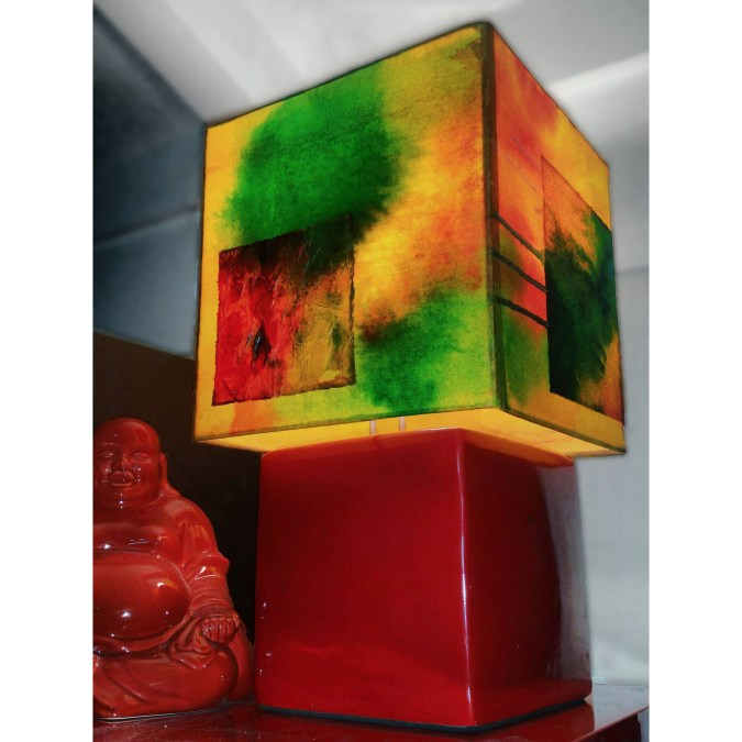 lamp dyed shade dbstevens