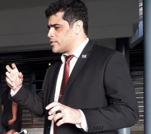 Vicepresident Ashwin Adhin