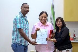 Ministerie van Arbeid 100 ste certificaat