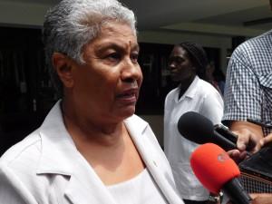 Minowc-minister Lilian Ferrier