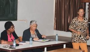 1Minister Ferrier en Pre -Bachelor Commissie IOL hebben interactieve meeting.1