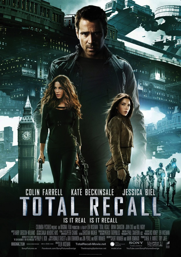 Total Recall Poster: One Of The Worst Ever?