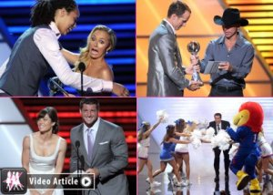 2012 Espy Awards Winners List, Nightlights