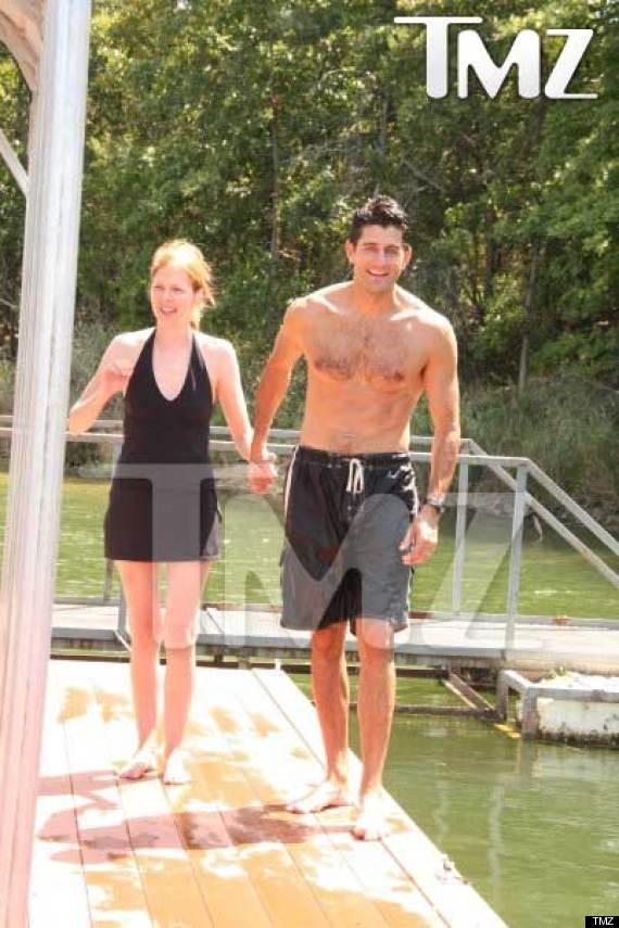 Paul Ryan's Shirtless Photos Emerge