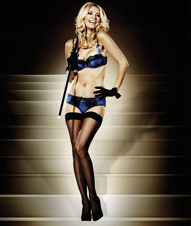 Tess Daly Does Undwear Ad For La Senza Post Pregnancy (PHOTO)
