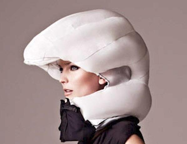 Invisible bike helmet goes on sale