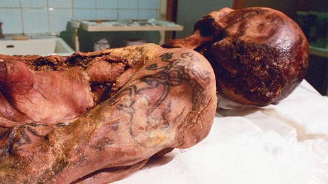 Siberian mummy's tattoos stuns researchers