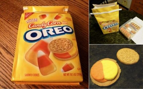 Candy Corn Oreos Reviews Are In: Tastes A lot Like Sugar