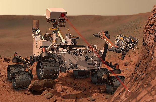 Shinny Object On Mars:  Curiosity Finds Odd Discovery