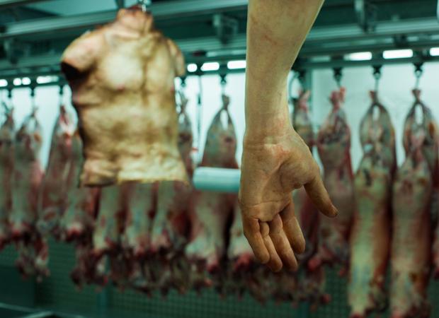 'Human Flesh' On Sale At London's Butcher Shop