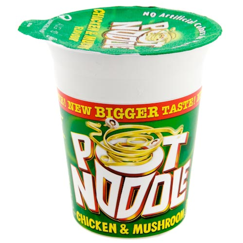 Pony Is Is Like Totally Hooked on Pot Noodles Yo