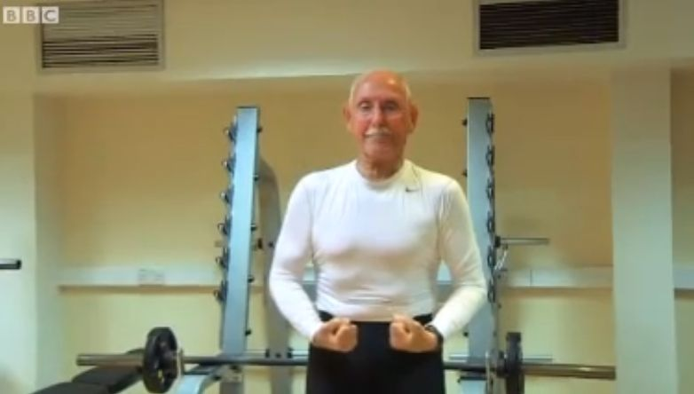 93-Year-Old Bodybuilder Makes Us All Look Lazy (Courtesy BBC)