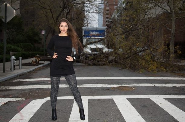 Model Sandy Photo Shoot: Brazilian Model Sparks Outrage